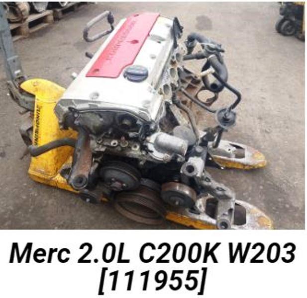 Mercedes Benz C200K W203 2.0 L Engine