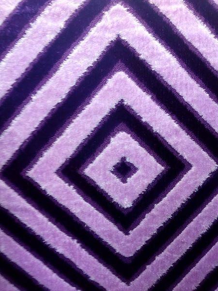 Light and dark purple suede carpet