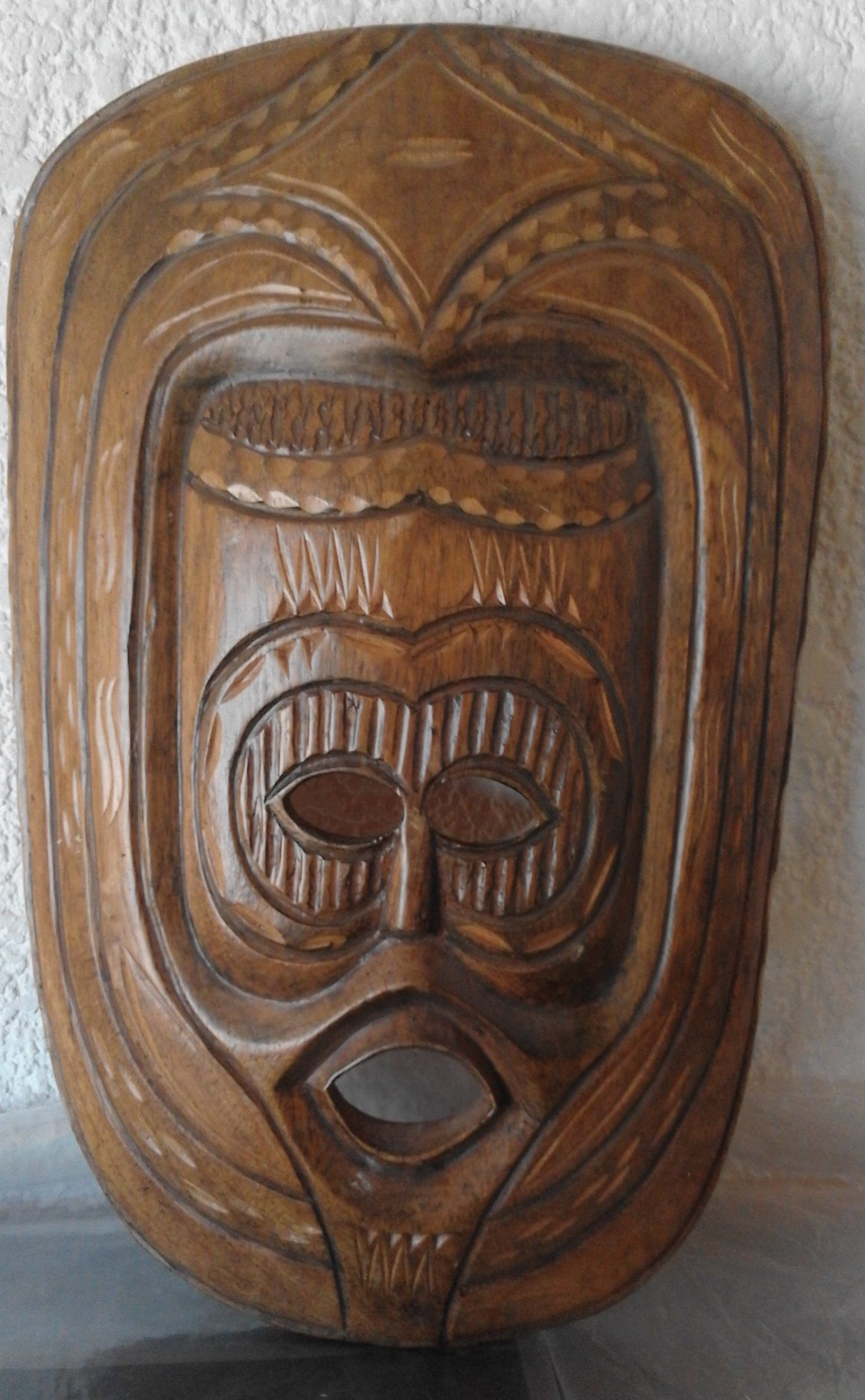 African Mask Wooden