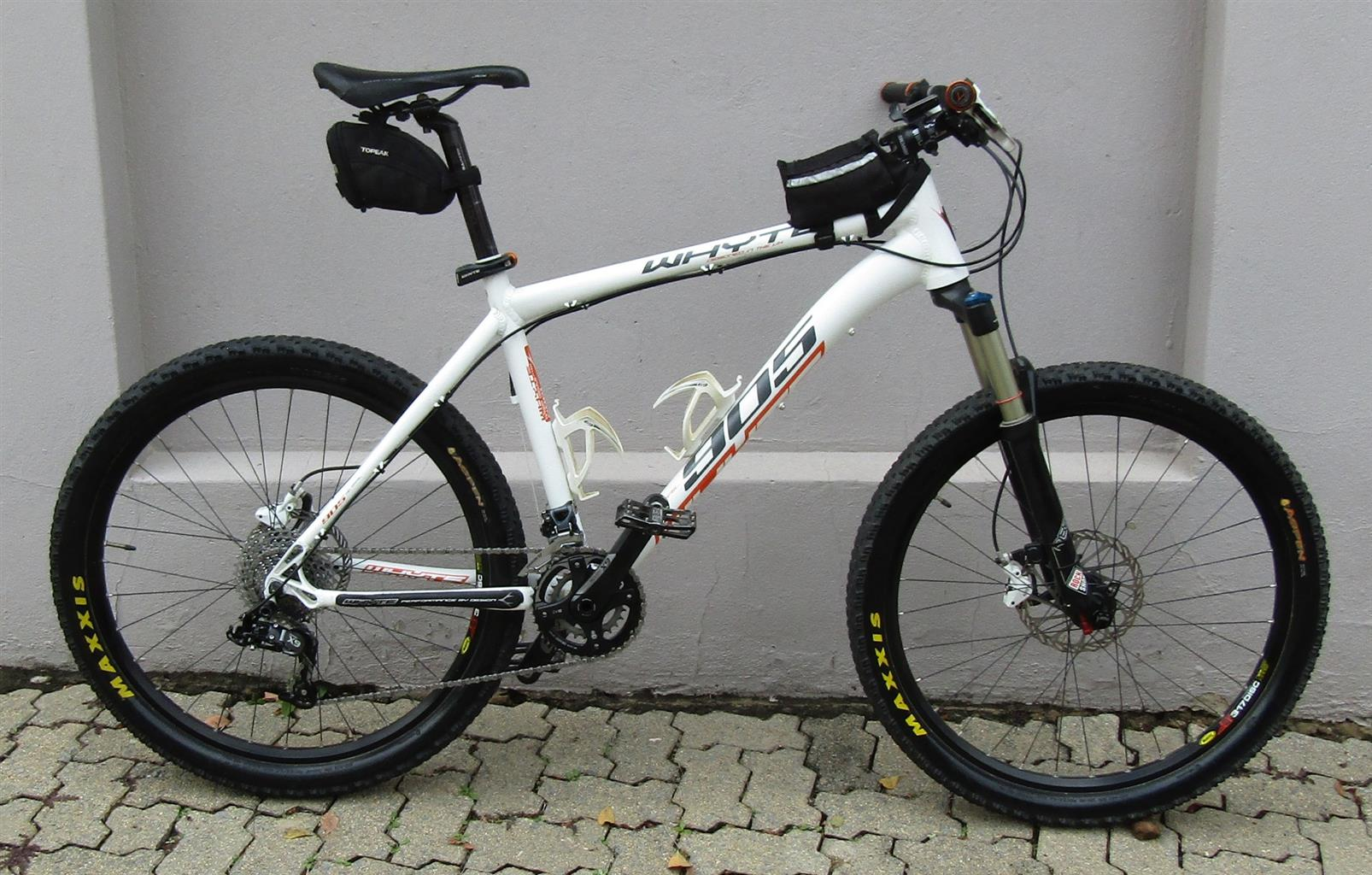Whyte 26inch MTB with SRAM X9 components