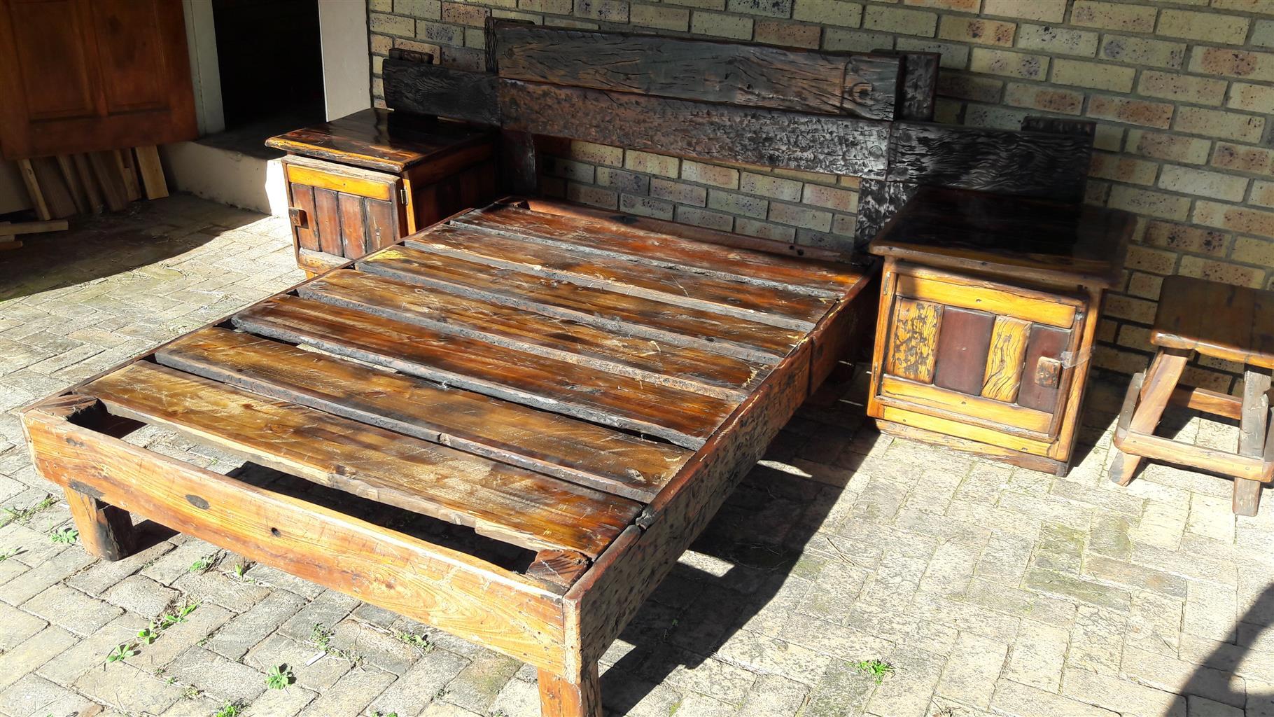 Sleeper wood bedroom set