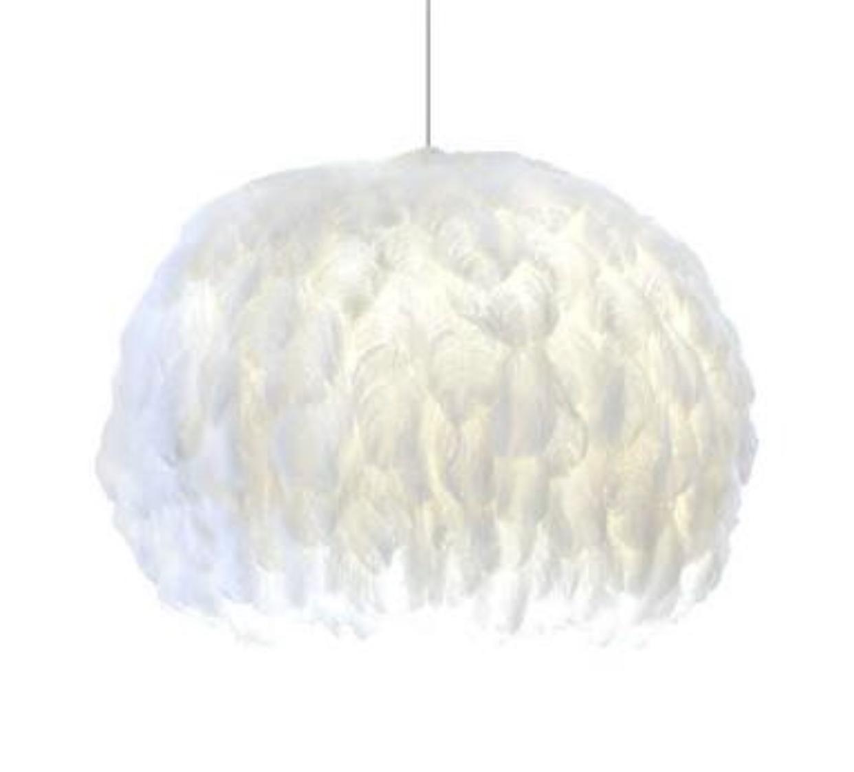 Ostrich feather light