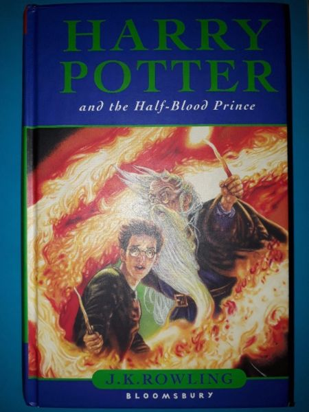 Harry Potter And The Half Blood Prince First Edition J K