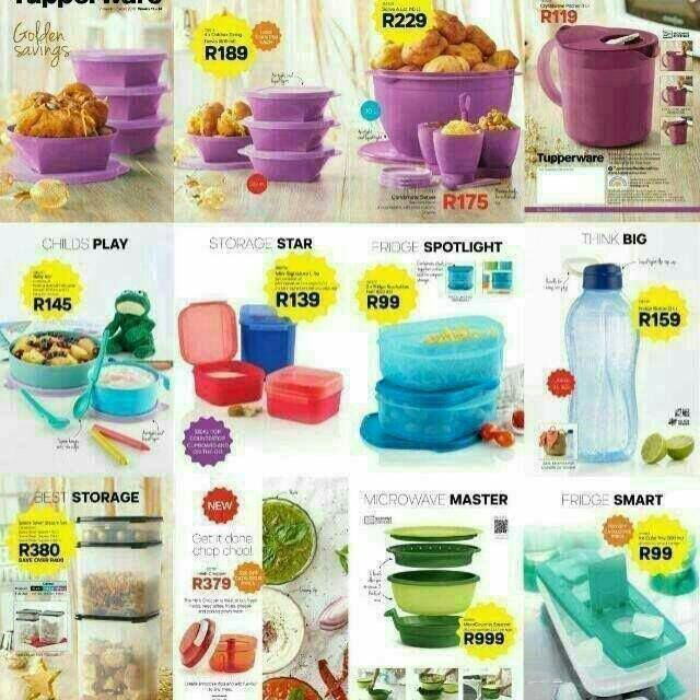 TUPPERWARE PRODUCTS ON SALE
