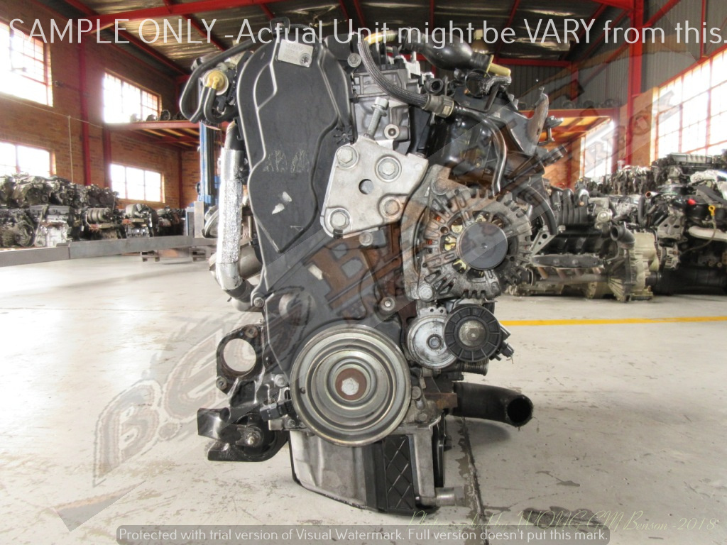 CITROEN JUMPY -10DYUL -2.0 HDI 16V Engine