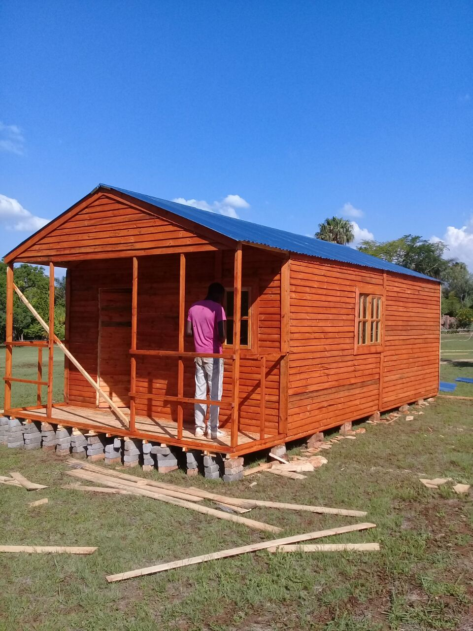4x7m wendy houses for sale