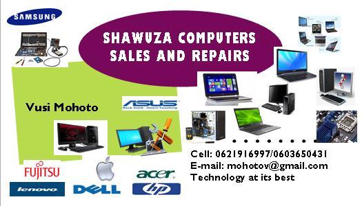 SHAWUZA COMPUTERS SALES AND REPAIRS