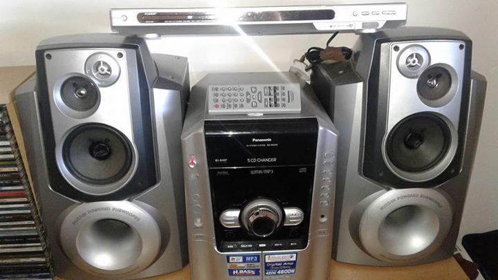 Panasonic Hi-Fi en DVD speler