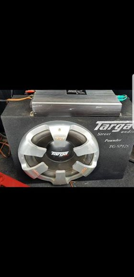 Targa sub met n 5200 watt amp