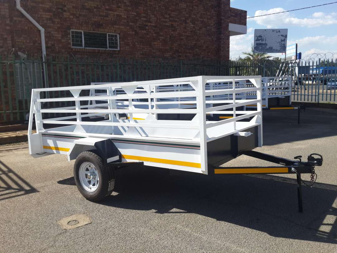 3M SINGLE AXLE TRAILER FOR SALE, BRAND NEW, PAPERS INCL