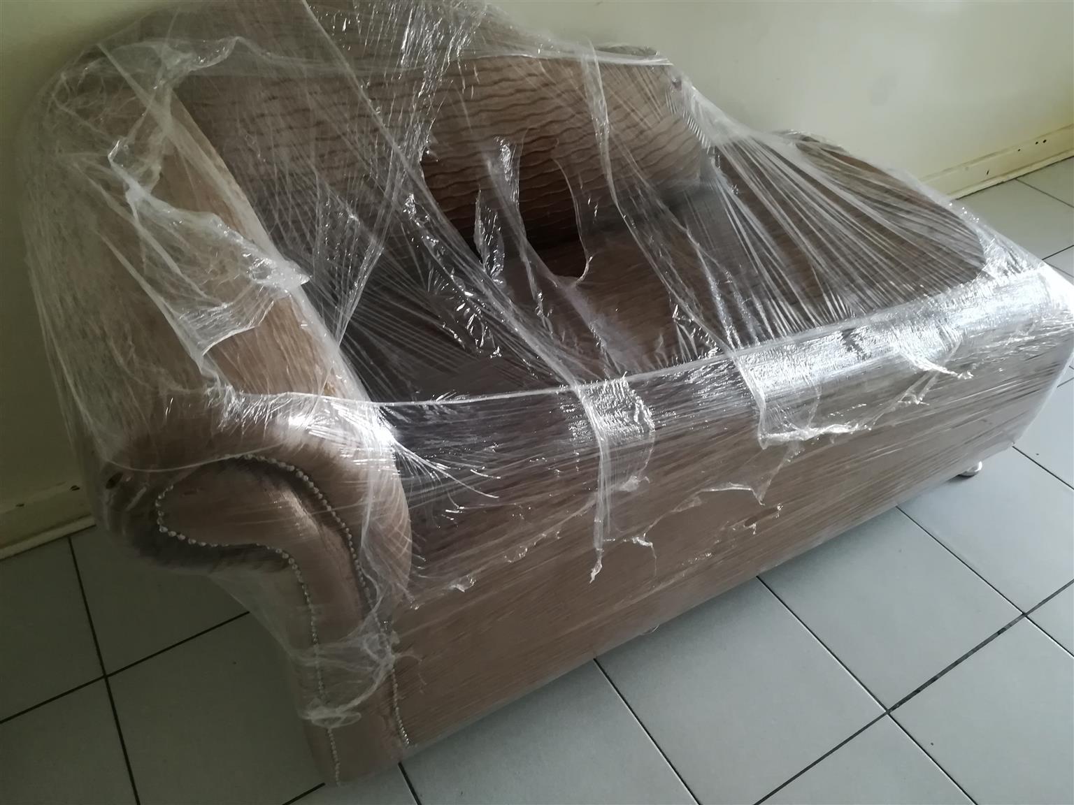 New velvet chaise lounger