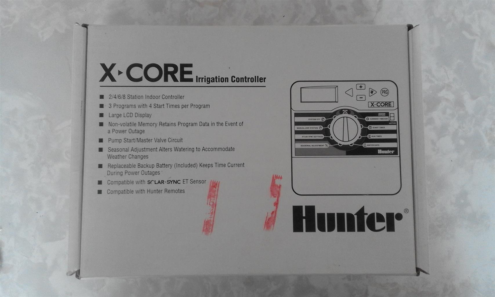 Hunter X-Core Irrigation Conroller