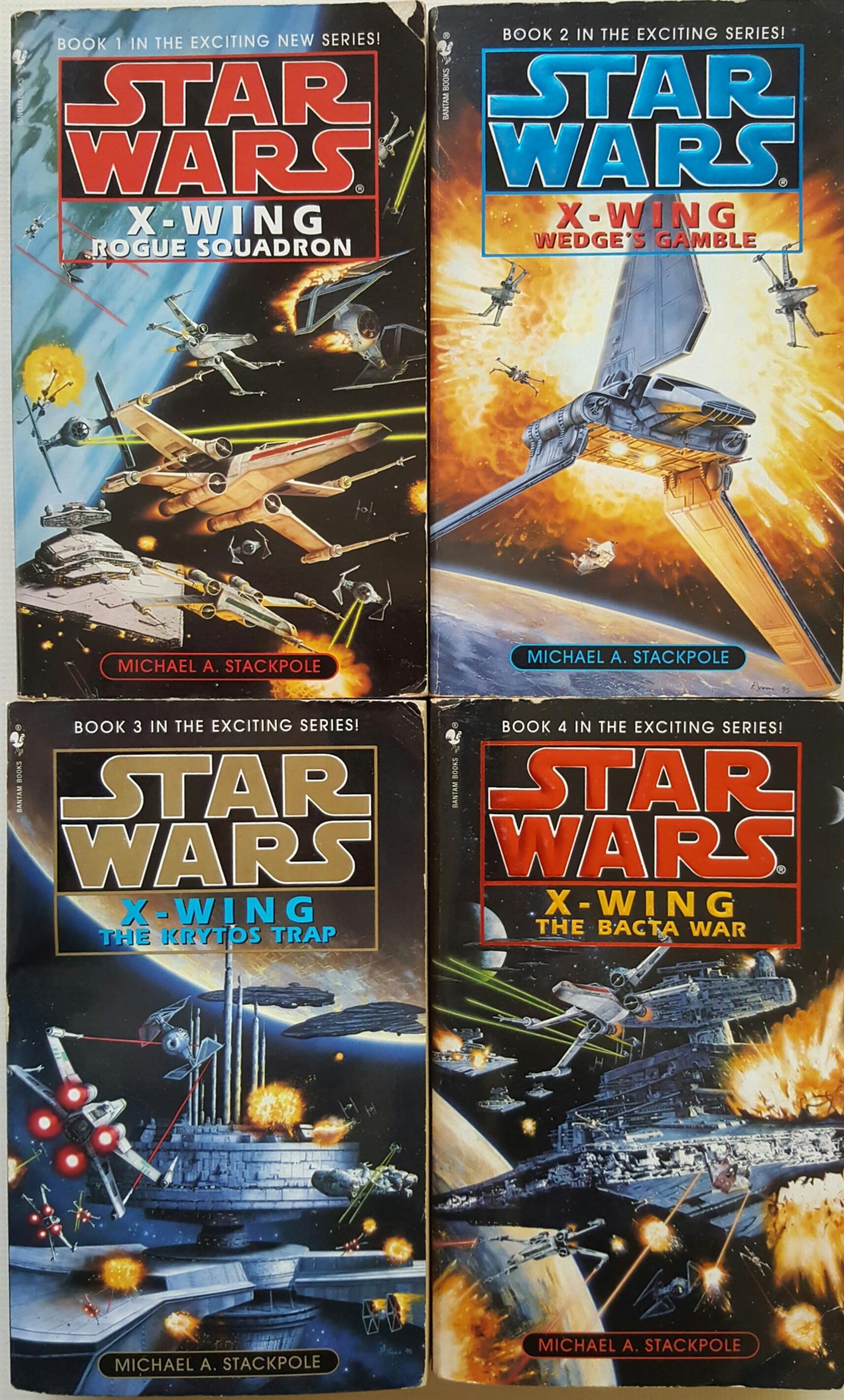 Star Wars X-Wing Book Set