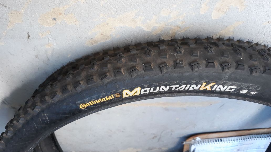 Continental MountainKing MTB Tyres Set For Sale PRICE NEGOTIABLE