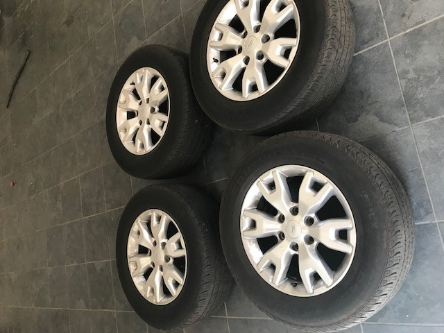 "Ford Ranger Wildtrack Original 18"" Mags and Tyres 2015 Model"