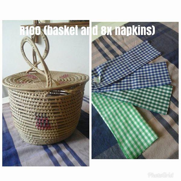 Basket and napkins