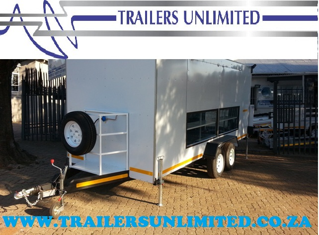 MOBILE KITCHEN, CATERING TRAILER. FOOD TRAILER.