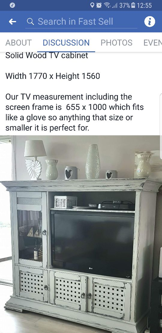 TV CABINET / WALL CABINET
