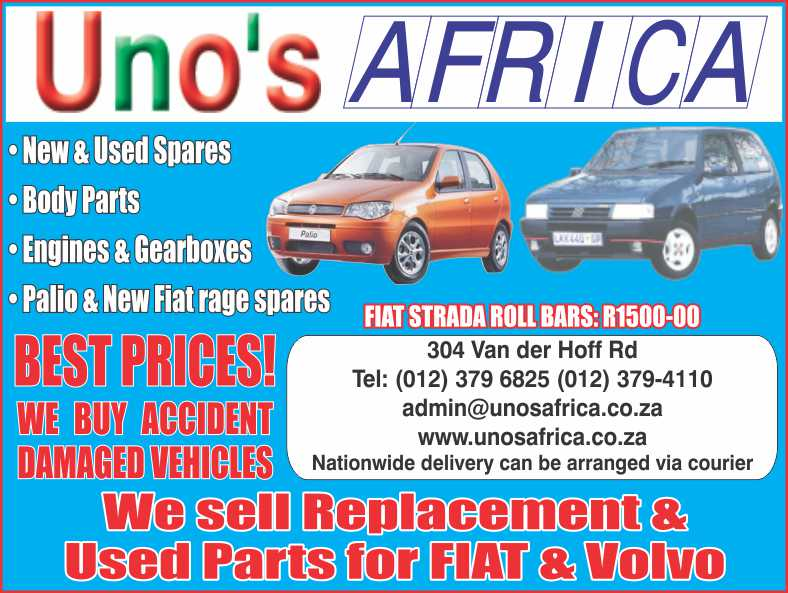 Find Uno's Africa's adverts listed on Junk Mail