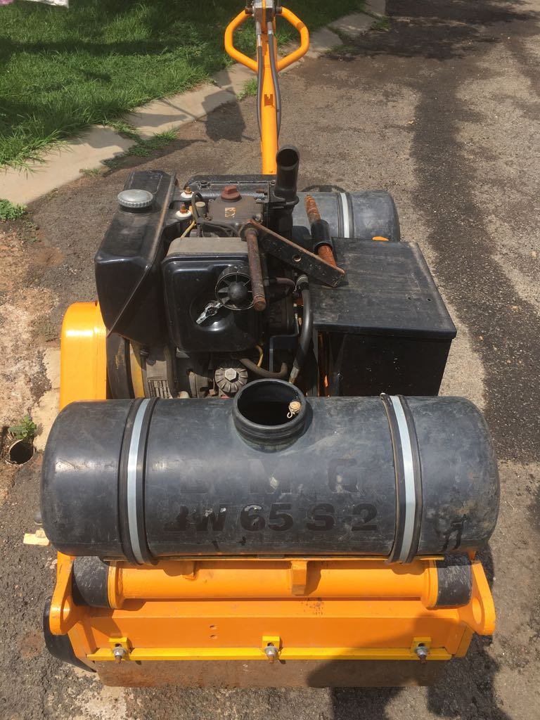 Fully Rebuild BW 650 Pedestrian Compaction Roller