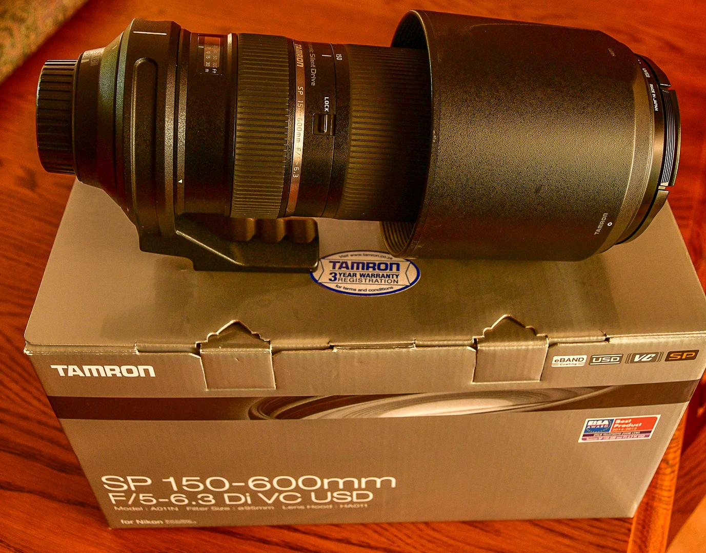 Tamron 150-600 F5-6.3 DI VC USD