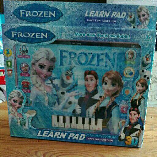 Educational Frozen Learn Pad