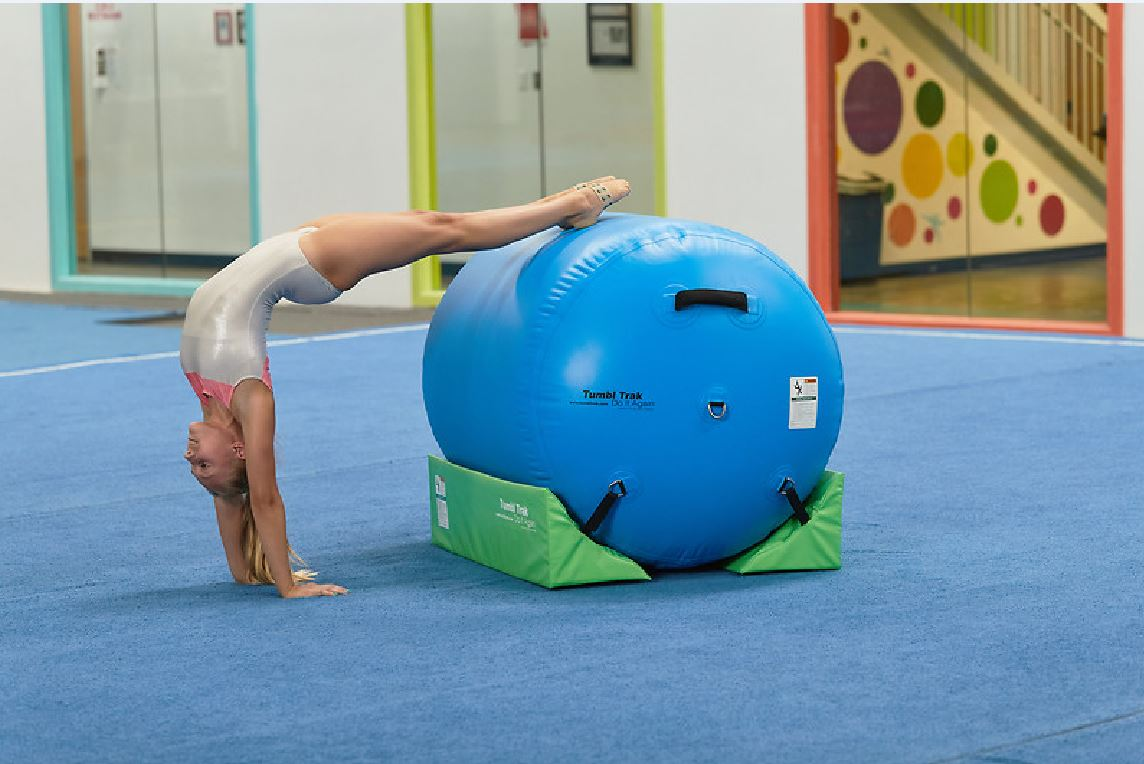 Gymnastics air barrel summersault trainers