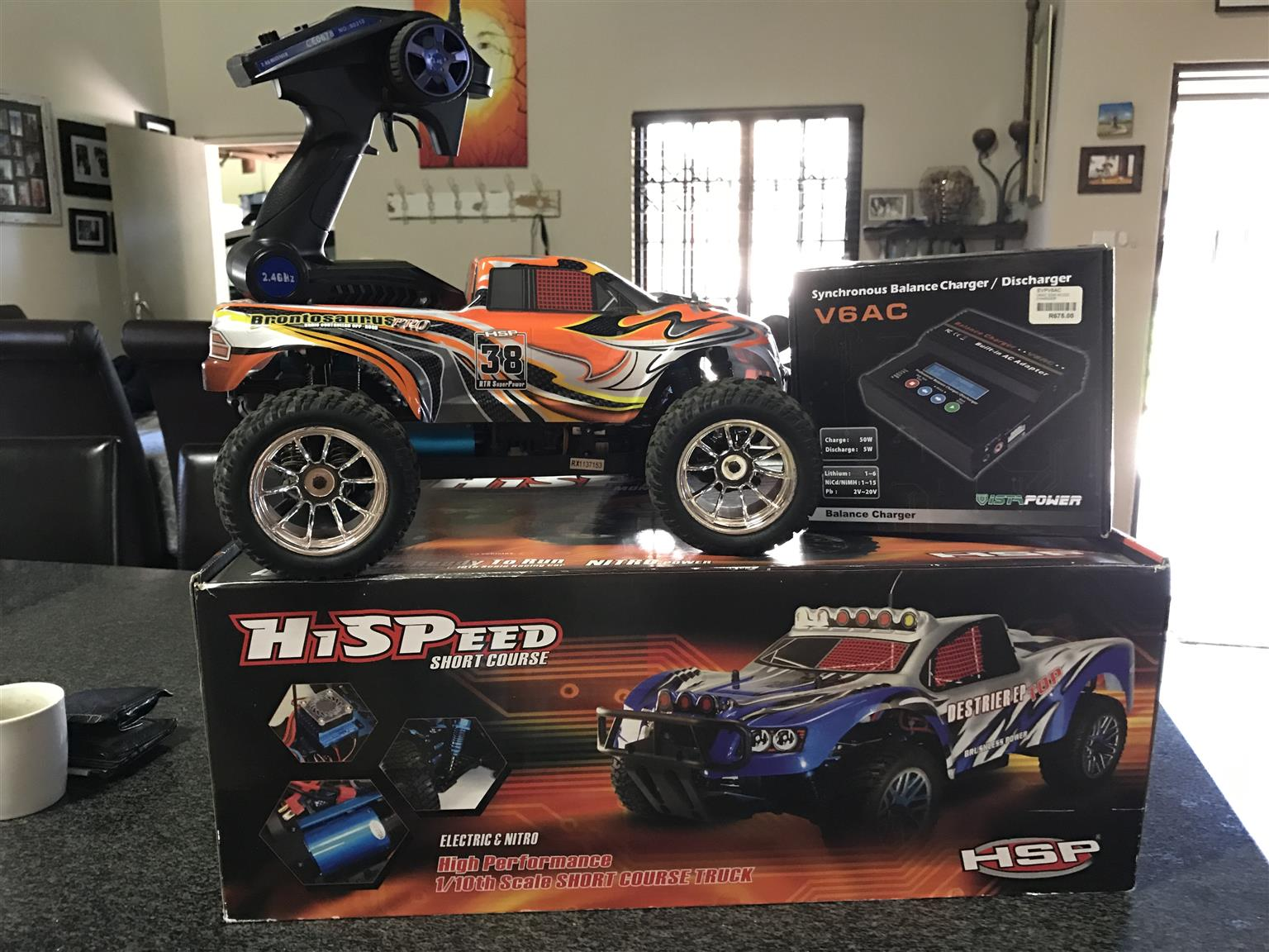 RC Car HSP Brontosaurus 1/10 Electric (Brushless)