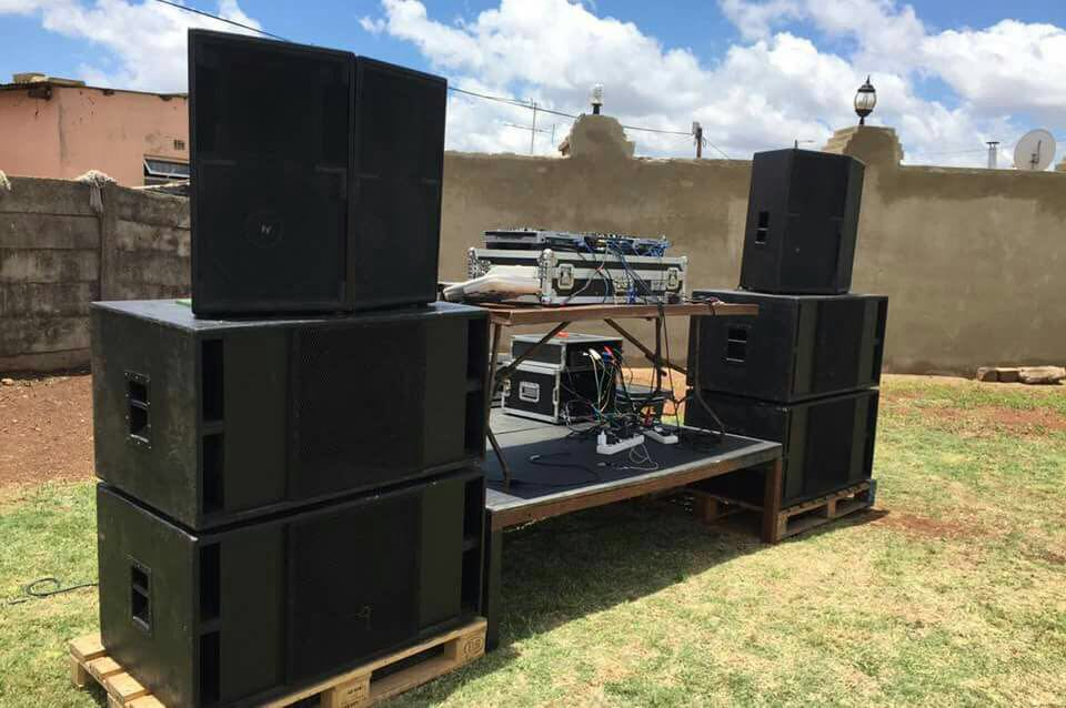 "Sound system for hire ""Your perfect sound solution"""