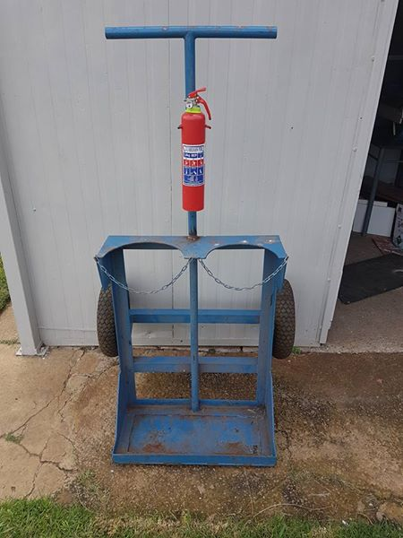 Gas bottel trolley