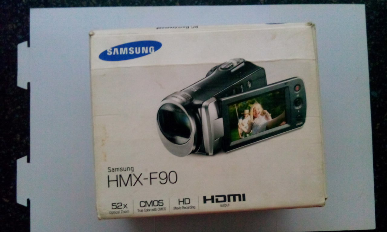 Samsung Camcorder HMX-F90