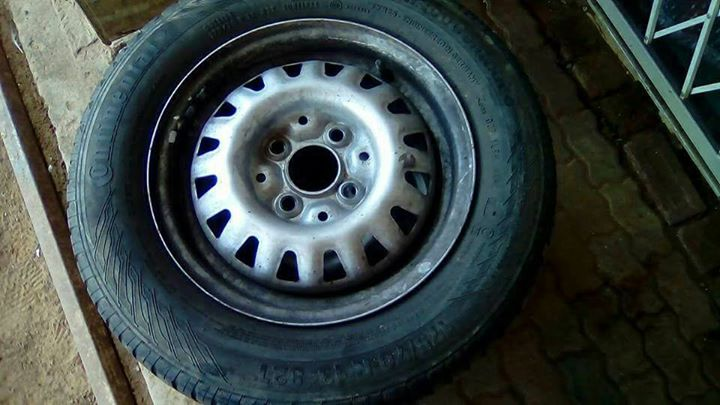 Tyre without rim