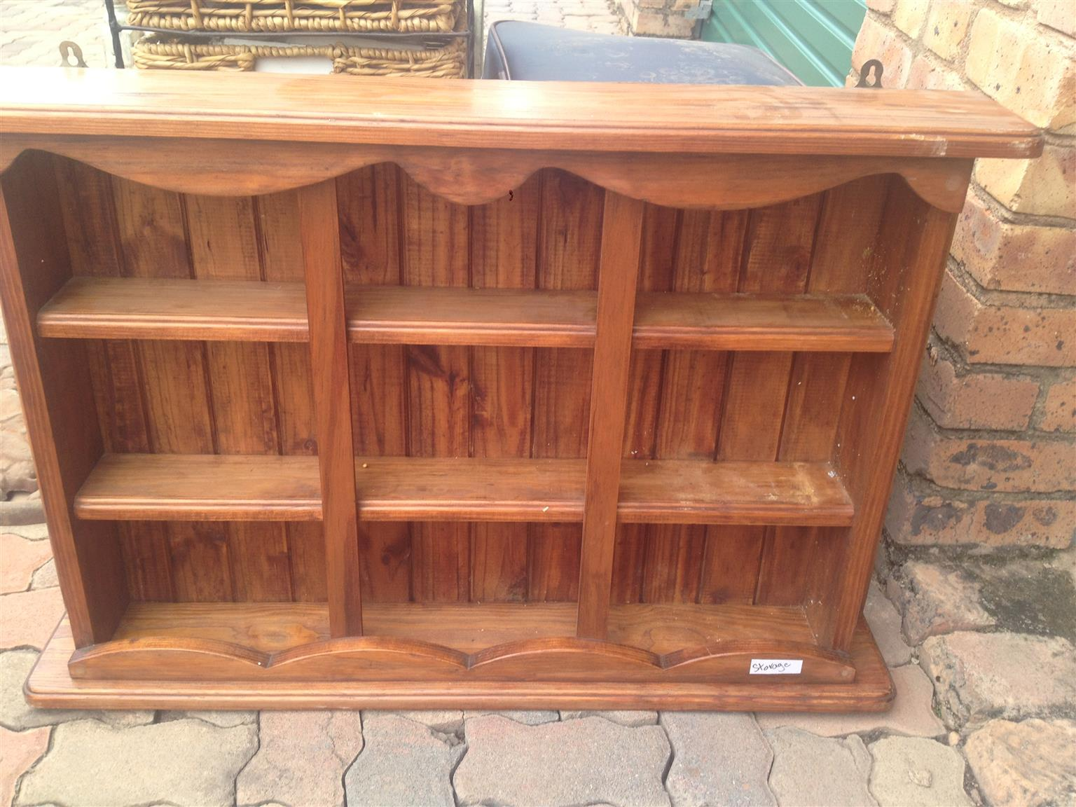 Beautiful wooden spice rack
