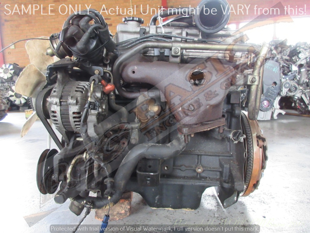 MAZDA COURIER -F8 1.8L CARB 8V FR ENGINE -FORD COURIER