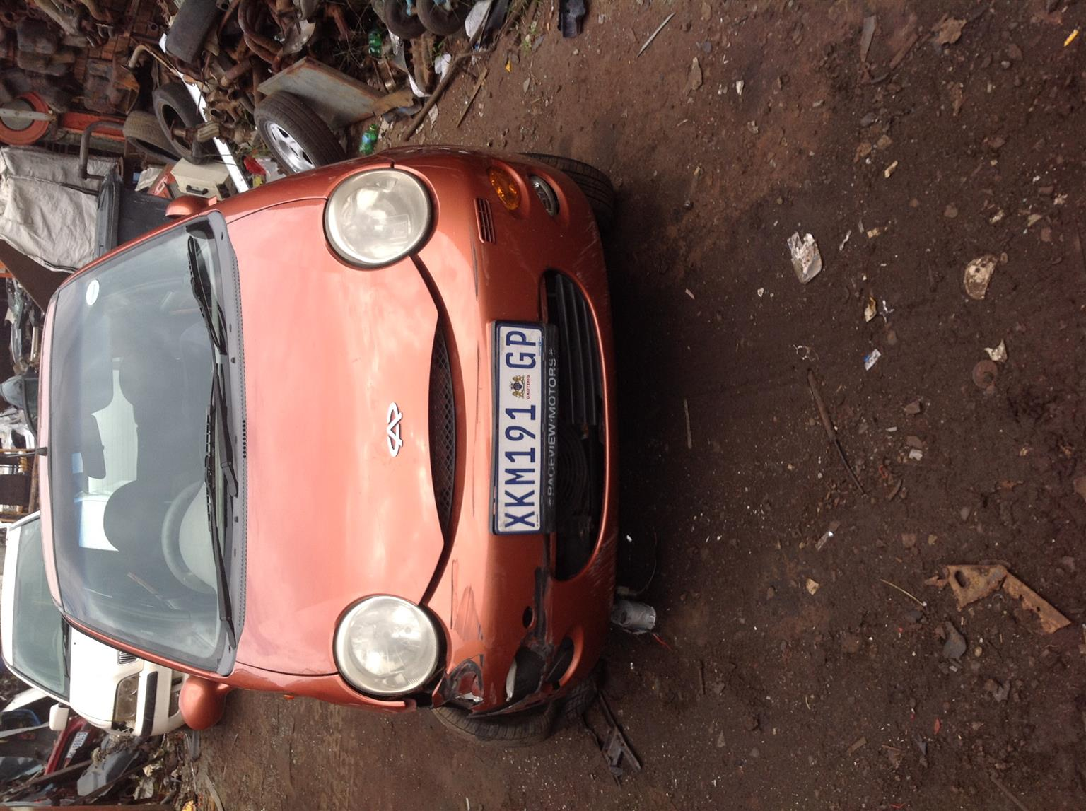 Stripping Chery QQ 2008 for Spares