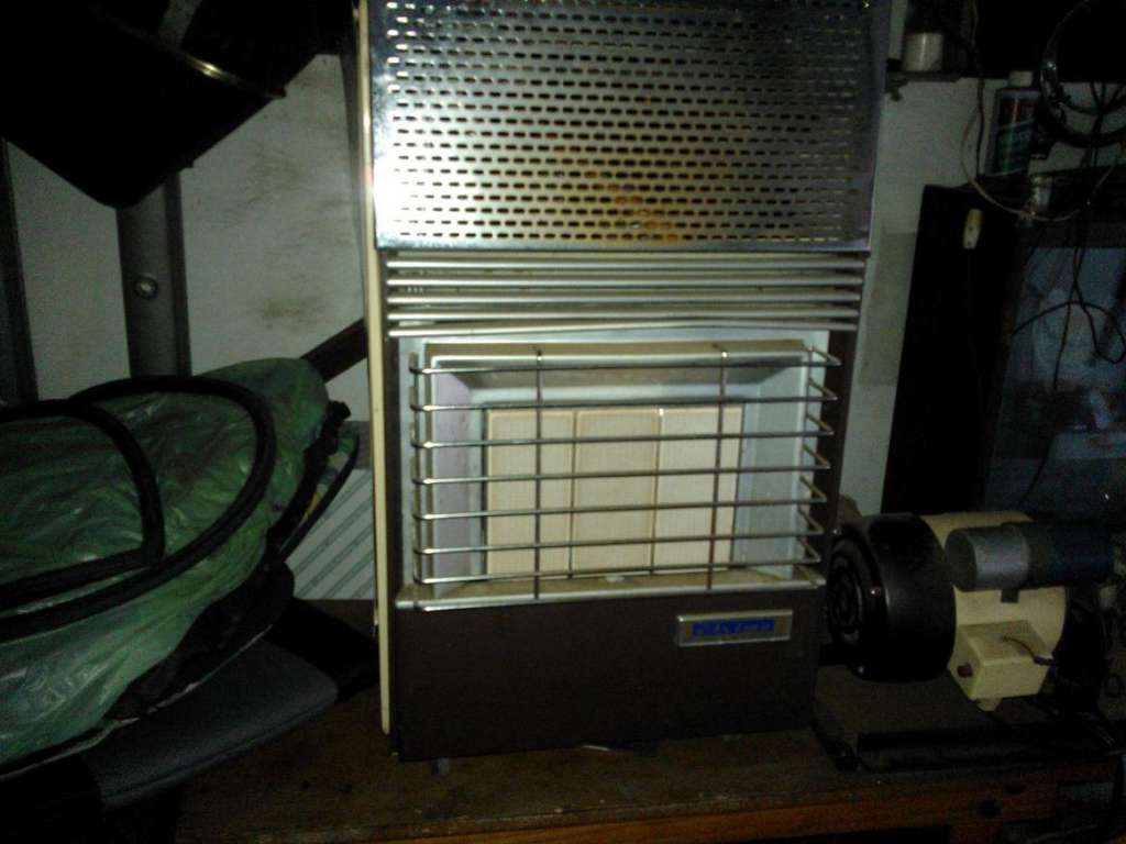 Good condition gas heater