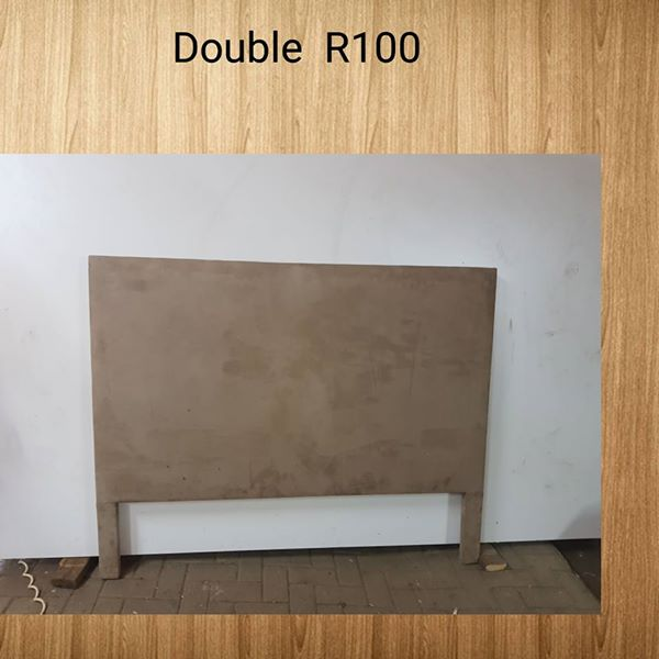 Double headboard alone