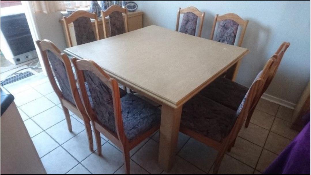 9 Pcs Dining Room Suite