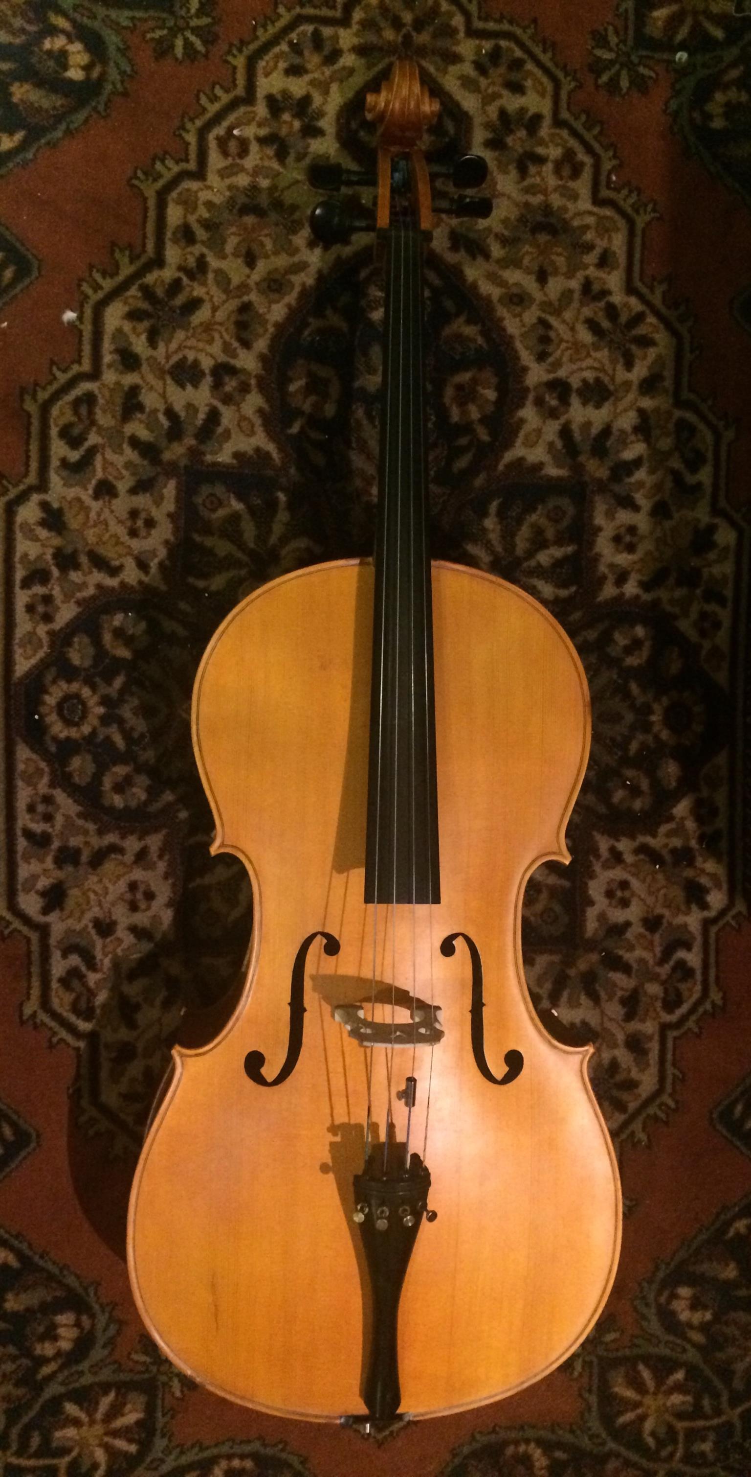 Professionally Handmade Full Size Cello
