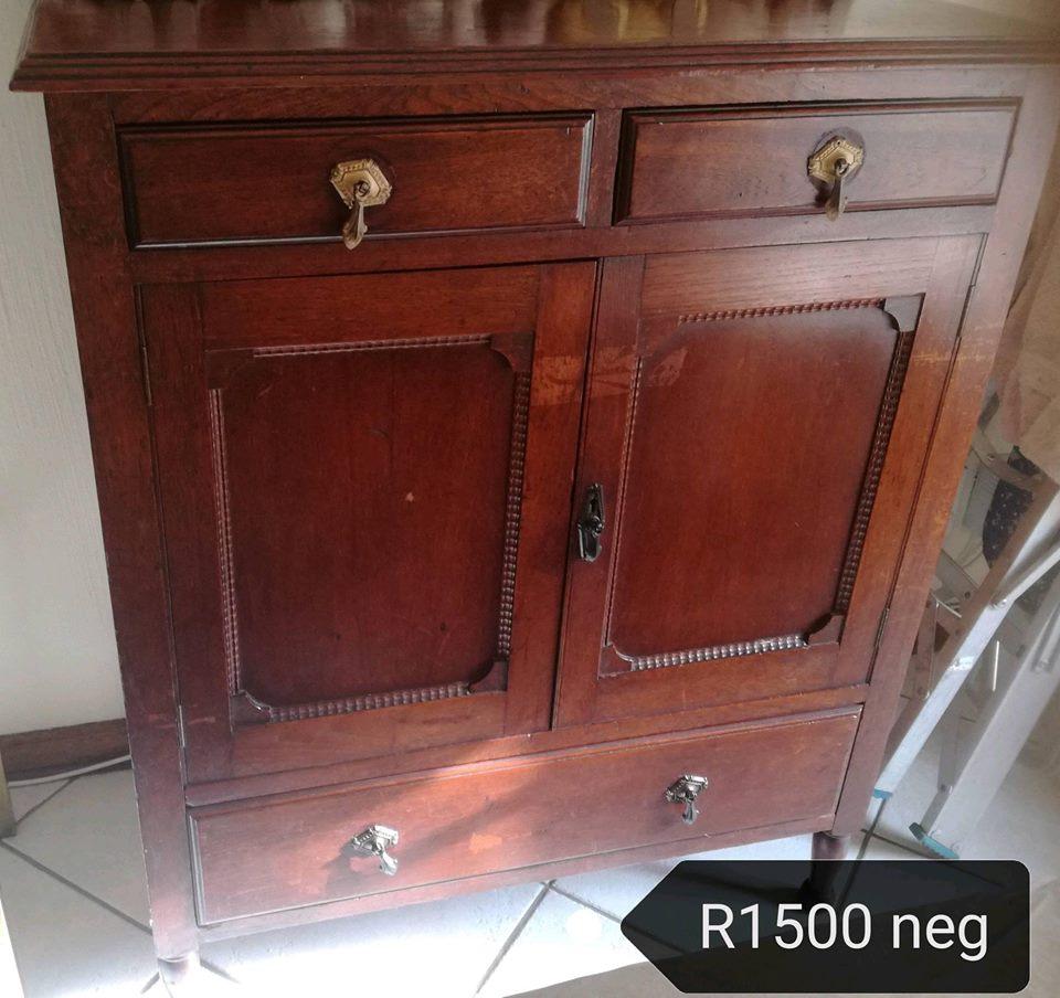 Dark wooden cabinet