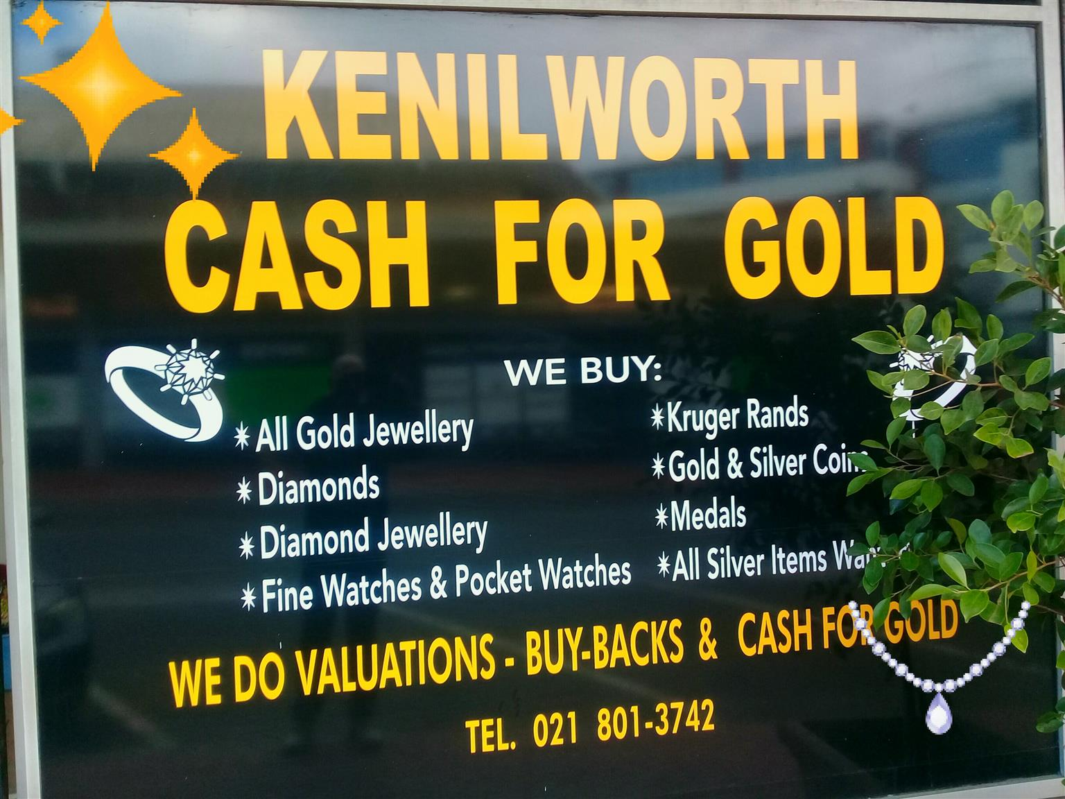 Kenilworth Cash 4 Gold Exchange