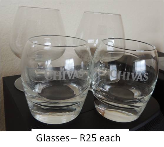 Chivas glasses for sale