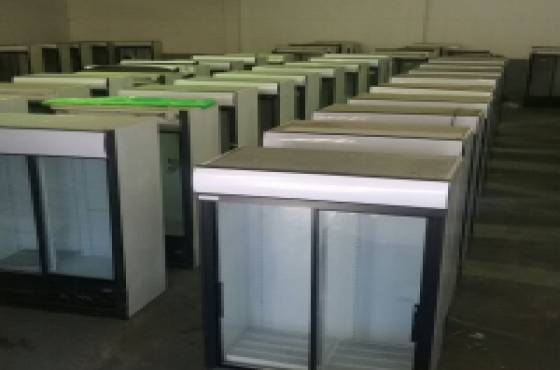 Display Fridges Double Doors, three Doors, single Doors and Gas Chest Freezers