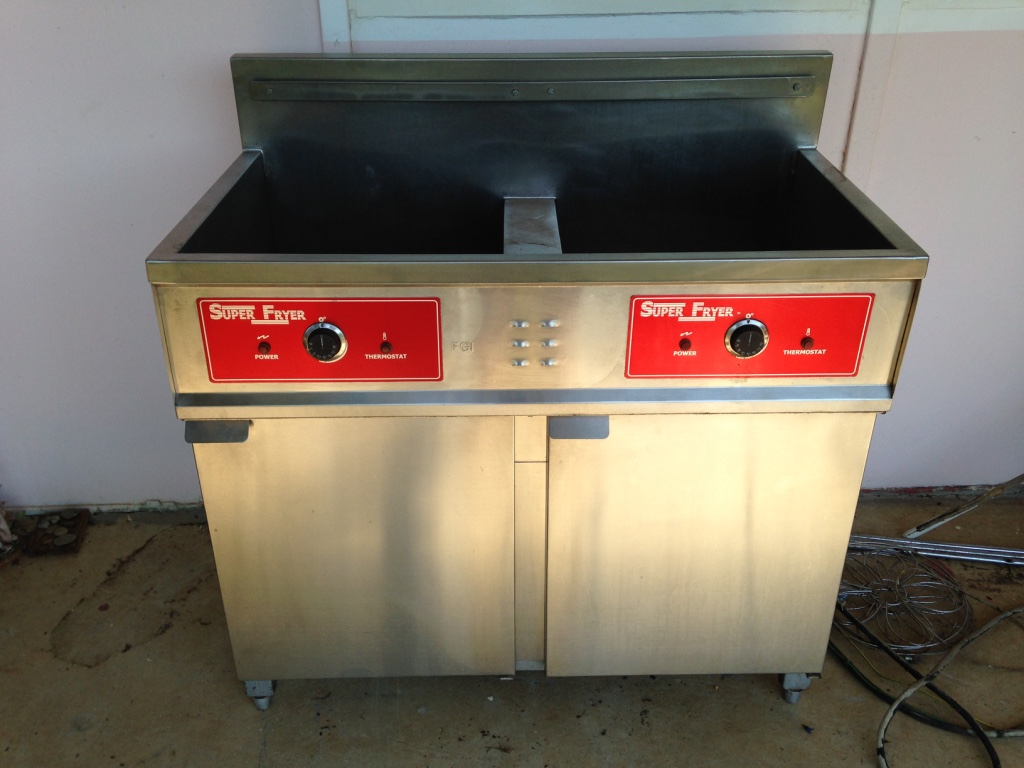 Super Fryer Chip Fryer made by Fuel & Gas
