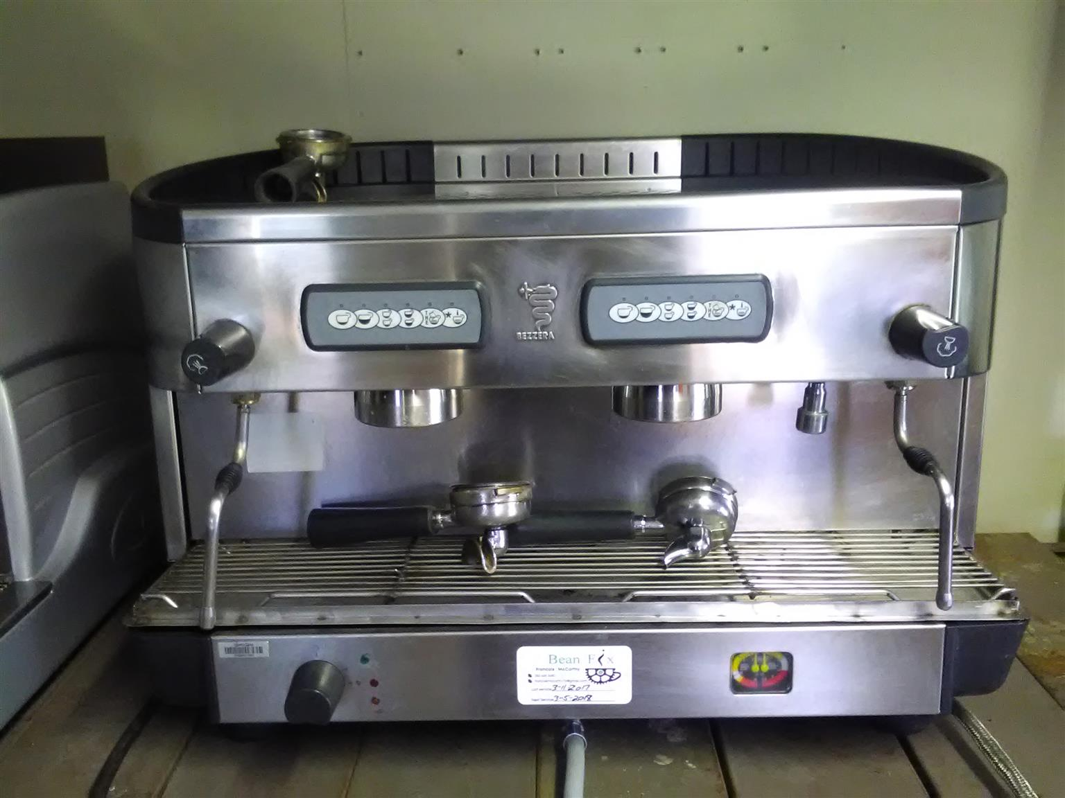 Espresso machine automatic 2group