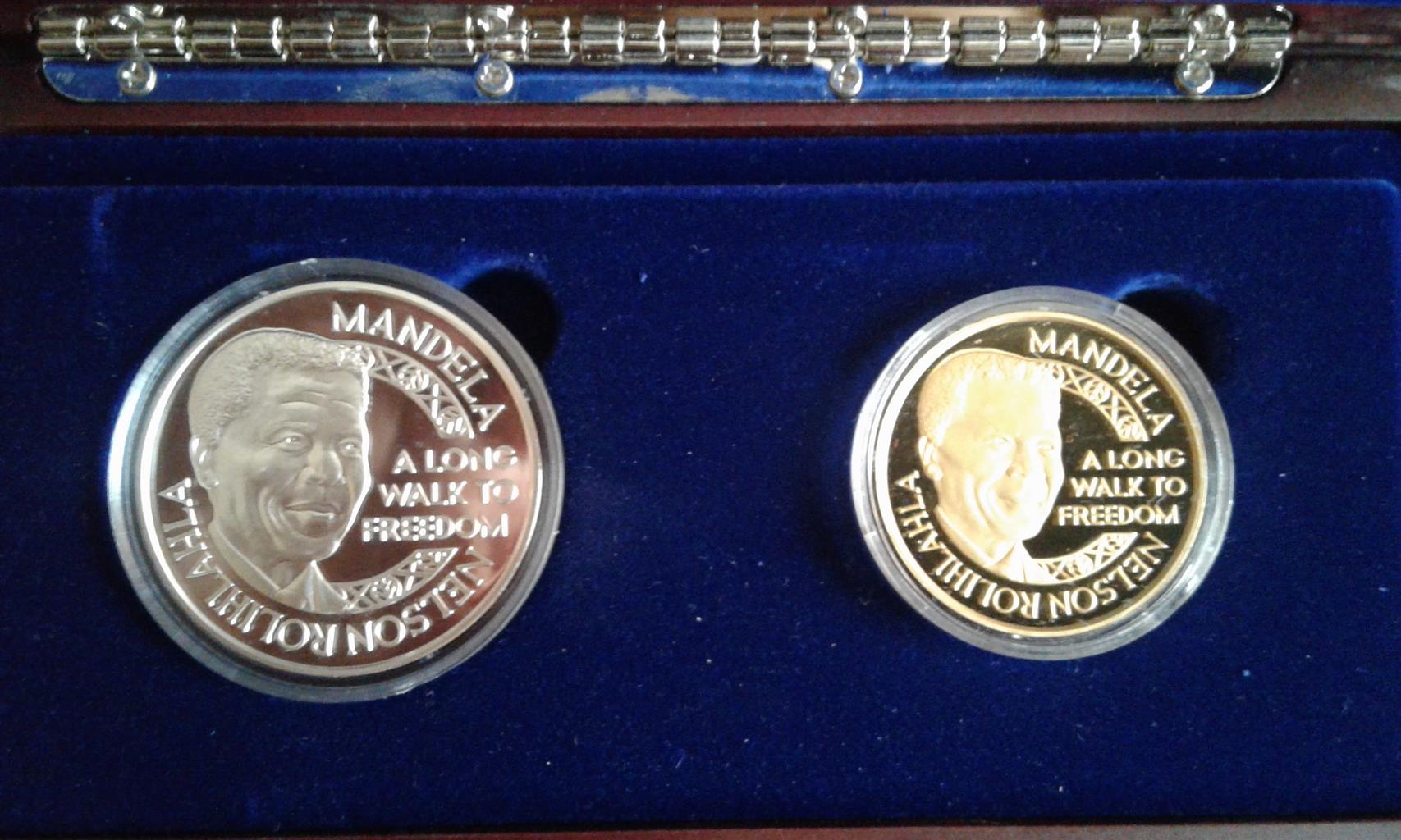 Mandela Nkosi 1oz Twin Set