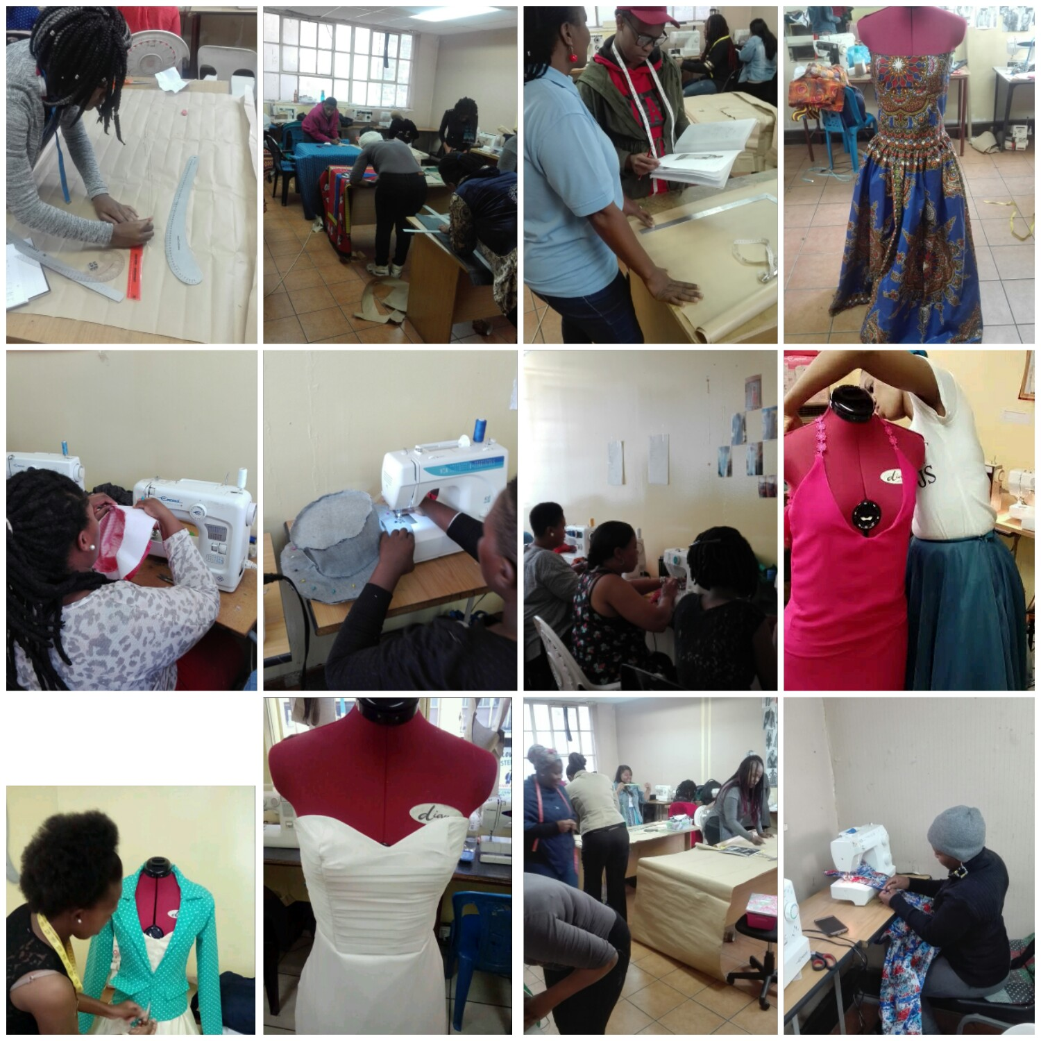 2018 registration for Fashion design + sewing classes
