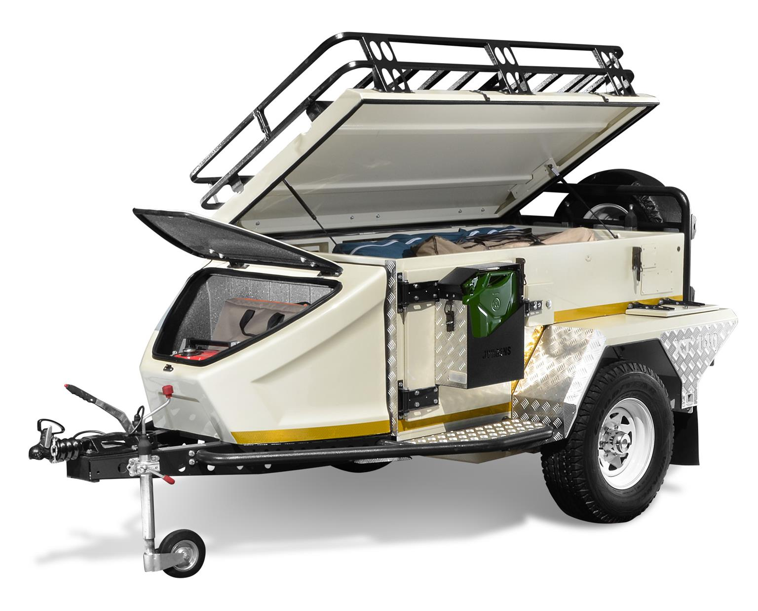 Jurgens XT-140 Tip Up Roof & Rack