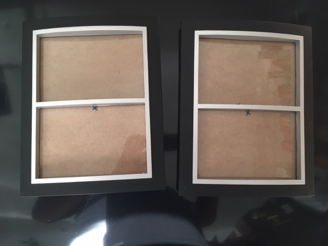 2 x Wall Photo Frames - New