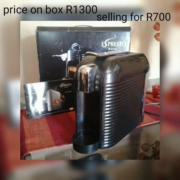 Espresso machine for sale